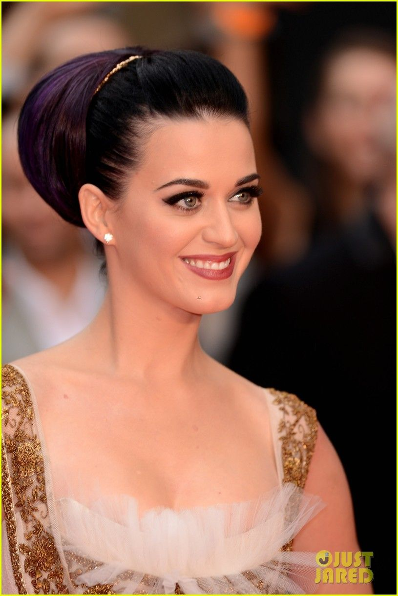 Katy Perry   Katy Perry: Red, White, & Blue Eyelashes at UK ...