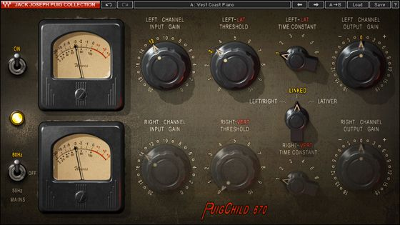 PuigChild 660/670 - One of my fav plugin compressors  Been using this on my 2-buss