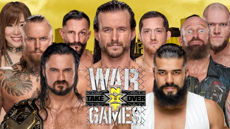 Wwe Nxt Takeover Wargames Results Live Coverage Nxt Takeover Wrestling News Martial Arts