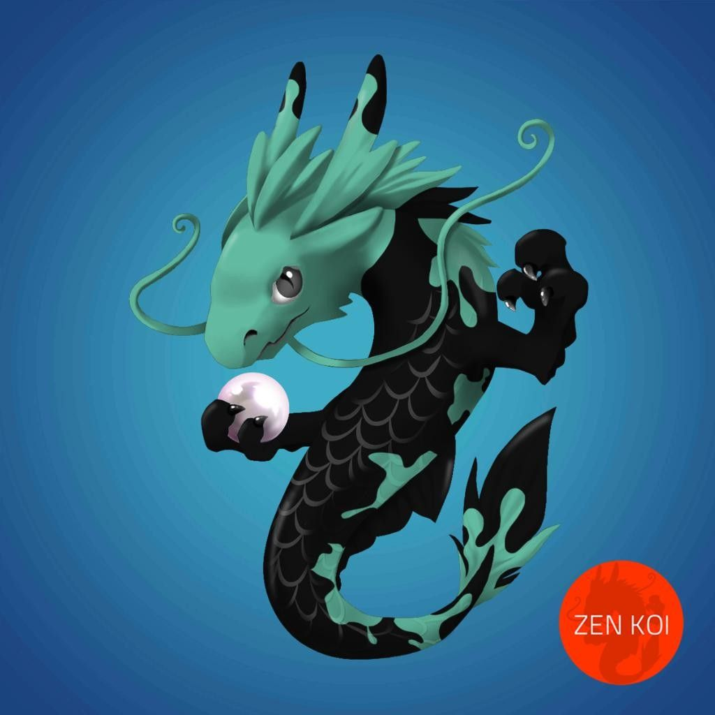 Kuhisui Sutato Koi dragon, Anime, Cartoon