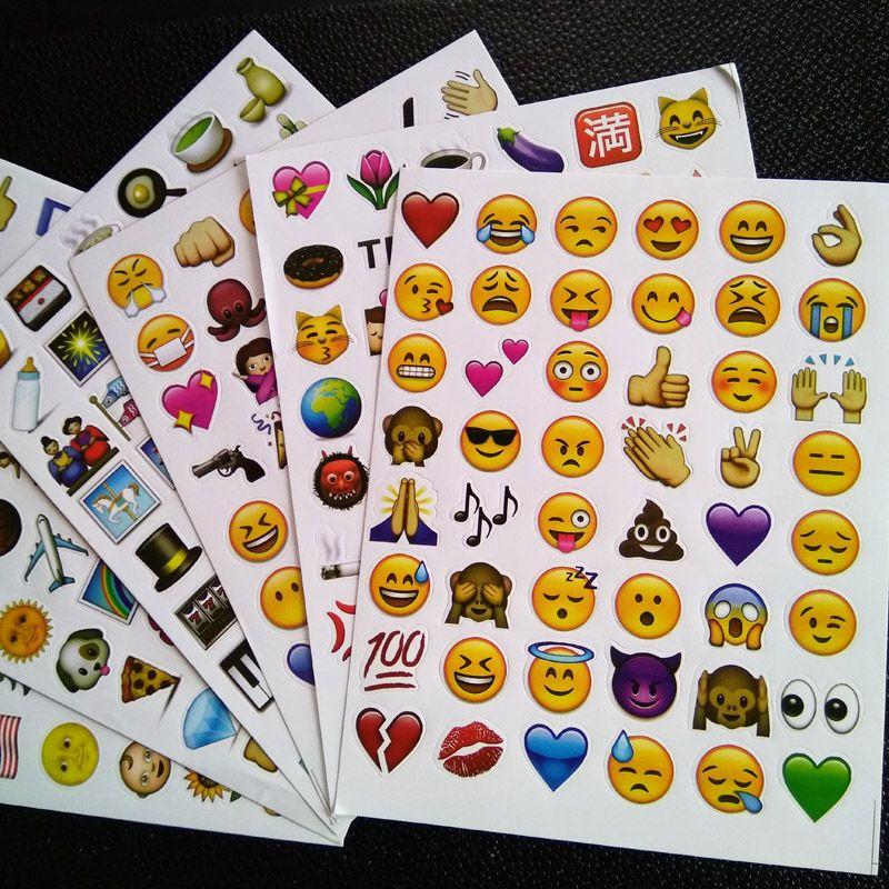 만화 스티커 장난감 많은 클래식/얼굴/9.1 새로운 이모티콘 스티커 (48 다이 컷) 스티커 노트북 재미 메시지 비닐 * 재미 * 창조적