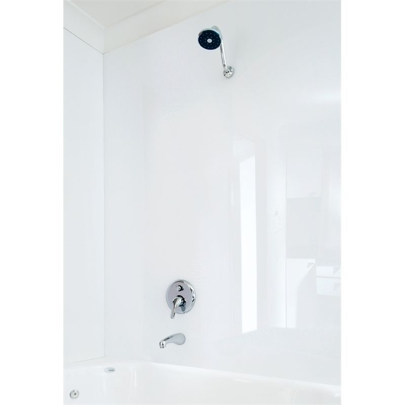 Bathroom Renovations Warehouse vistelle bathoom shower & feature wall panel 2440 x 1000 x 4mm i/n