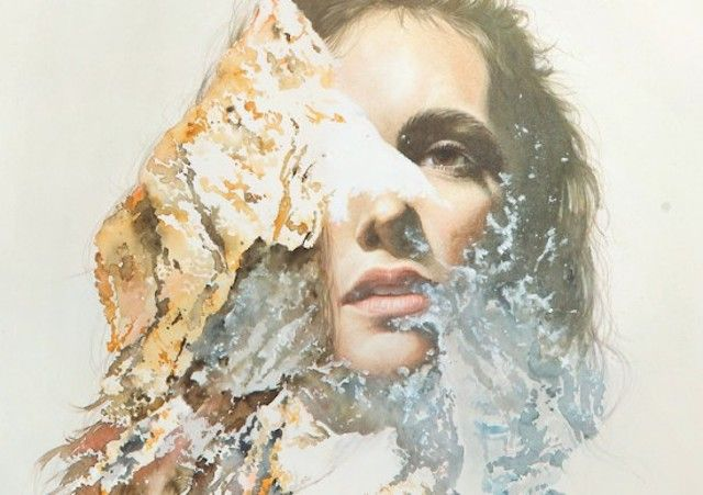 Double Exposure Paintings – Fubiz™