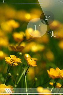 Ls Rain Field Mobile Theme Lovenature Nature Flowers Themes