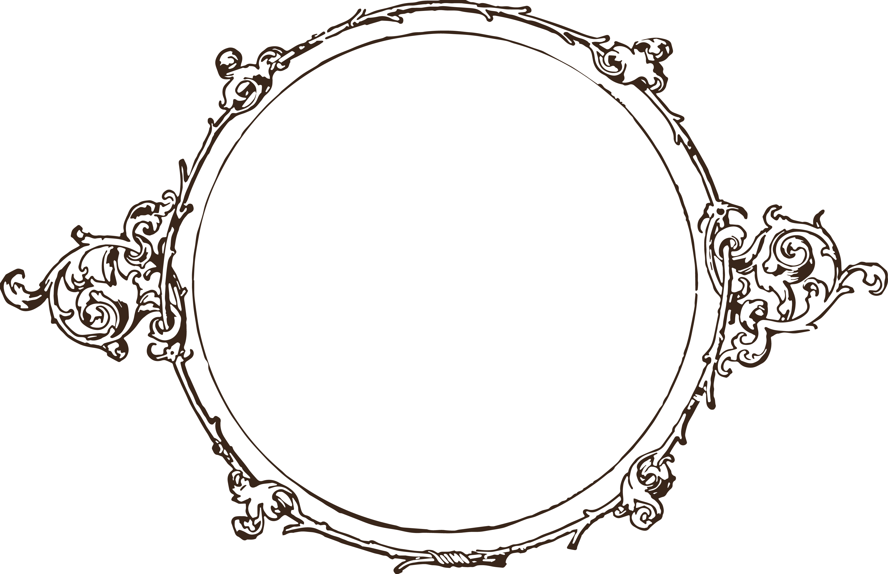 elegant circle border - Google Search | Banner clip art ...