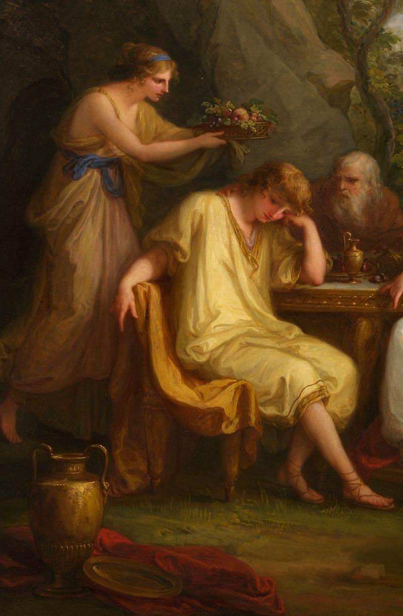Αποτέλεσμα εικόνας για telemachus and theoclymenus