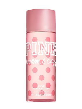 Perfume Pink Warm And Cozy Pink Perfume Body Mist Shimmer Body