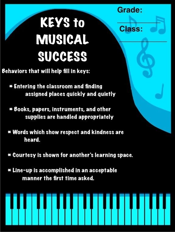 Hard Facts On Smart Classroom Design Ideas Guidelines And Layouts ~ Keys to musical success behavior system piano and