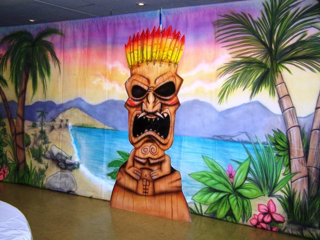 Diy Hawaiian Stage Decorations Google Search Stage