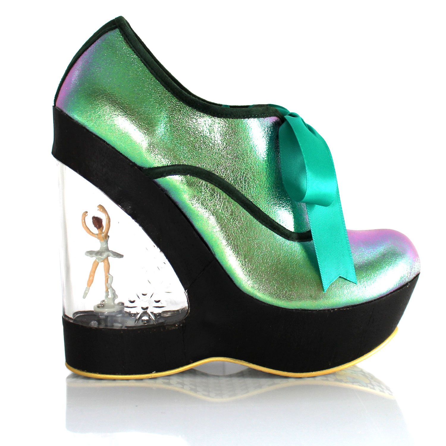 Ballet Heel Shoes take shoe fetishes to a whole new level. Seen on celebrities, in music videos and movies, these shoes will make you--or your partner--melt. High Heel Ballet Shoes on SALE now!