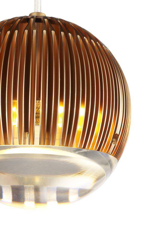 Fin Light Round Copper Design By Tom Dixon Light Bulb Pendant Light Copper Design