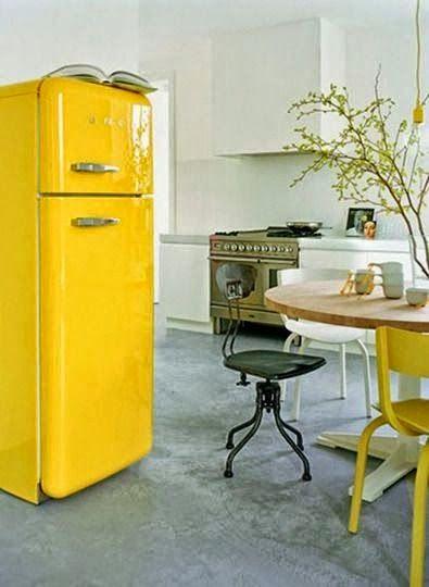 Decorando con el vitalista amarillo, el color del sol.