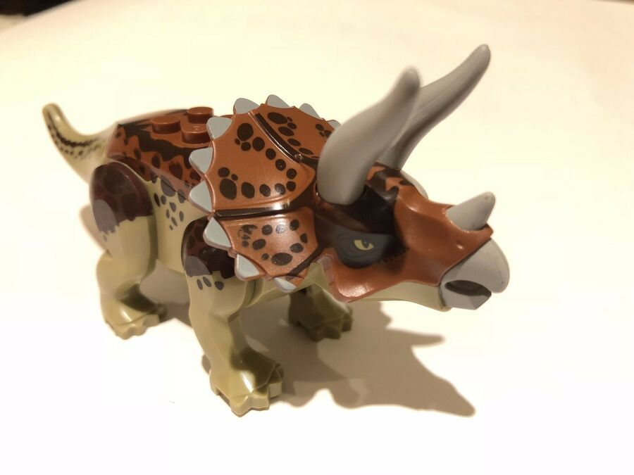1 pc Triceratops Dinosaurs The Jurassic Dino Mini Figures Building Blocks Toys