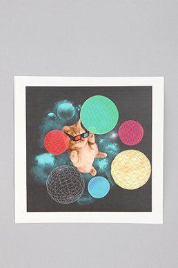 Kim Kong For Society6 Playful Day Print
