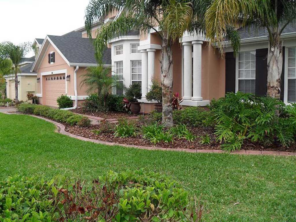 Central Florida edging - Orlando Landscape Curbing ...