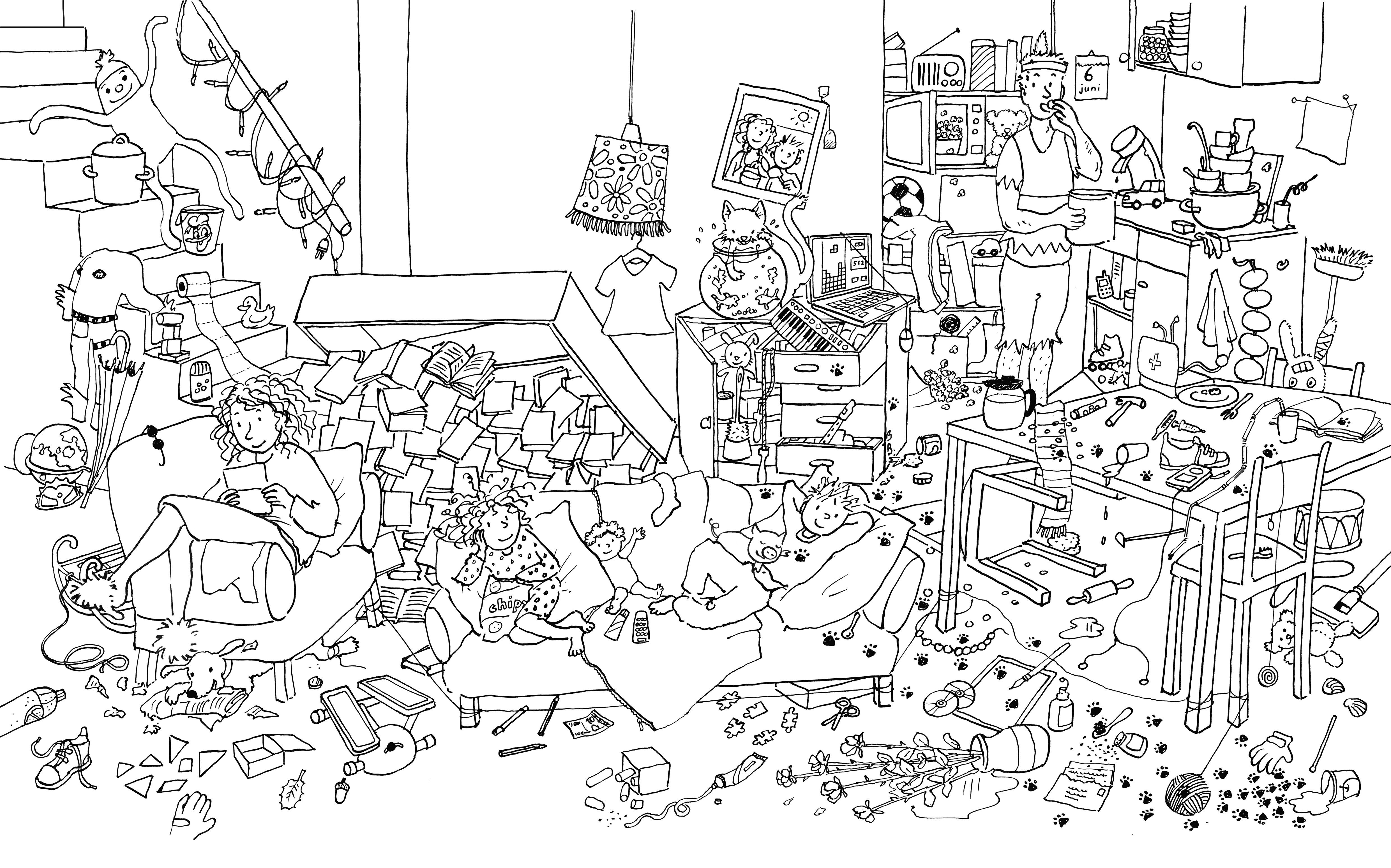 Coloring Page Www Boekencentrum Nl Concept Art Game Background Art Art