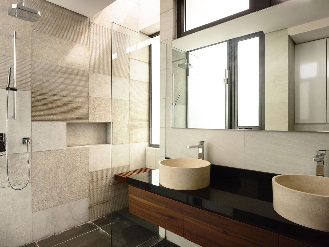 11 duftende zeitgenössische Badezimmer, die den Stil feiern  Bad