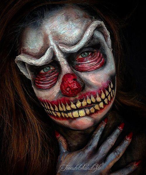 MAQUILLAJE HALLOWEEN ZOMBIE 11 Fotos maquillaje halloween zombie 2