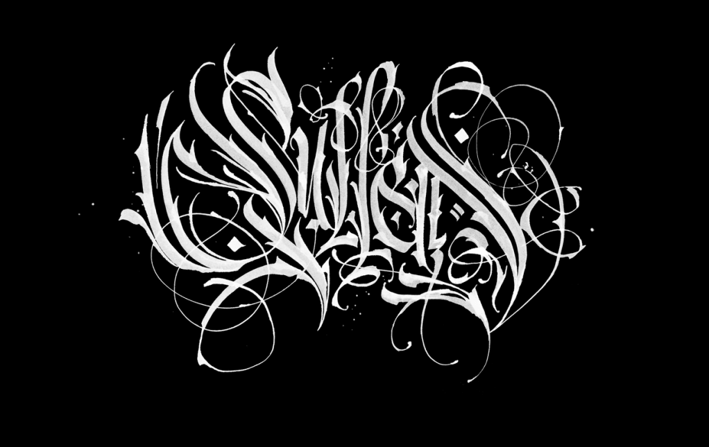 Stunning Calligraphy by Pokras Lampas