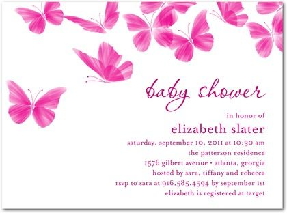 9 best images about butterfly baby shower invitation on pinterest,