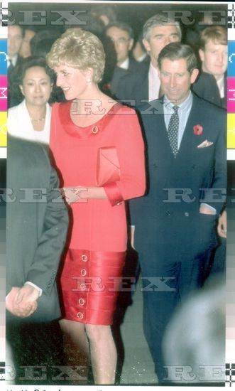 Prince And Princess Of Wales 1992 Prince Charles And Diana Princess Of Wales Arriving At The Scottish Ballet Performance In Seoul South Korea. Prince And Princess Diana 1992 Prince Charles And Princess Diana Arriving At The Scottish Ballet Performance In Seoul South Korea. 4 Nov 1992