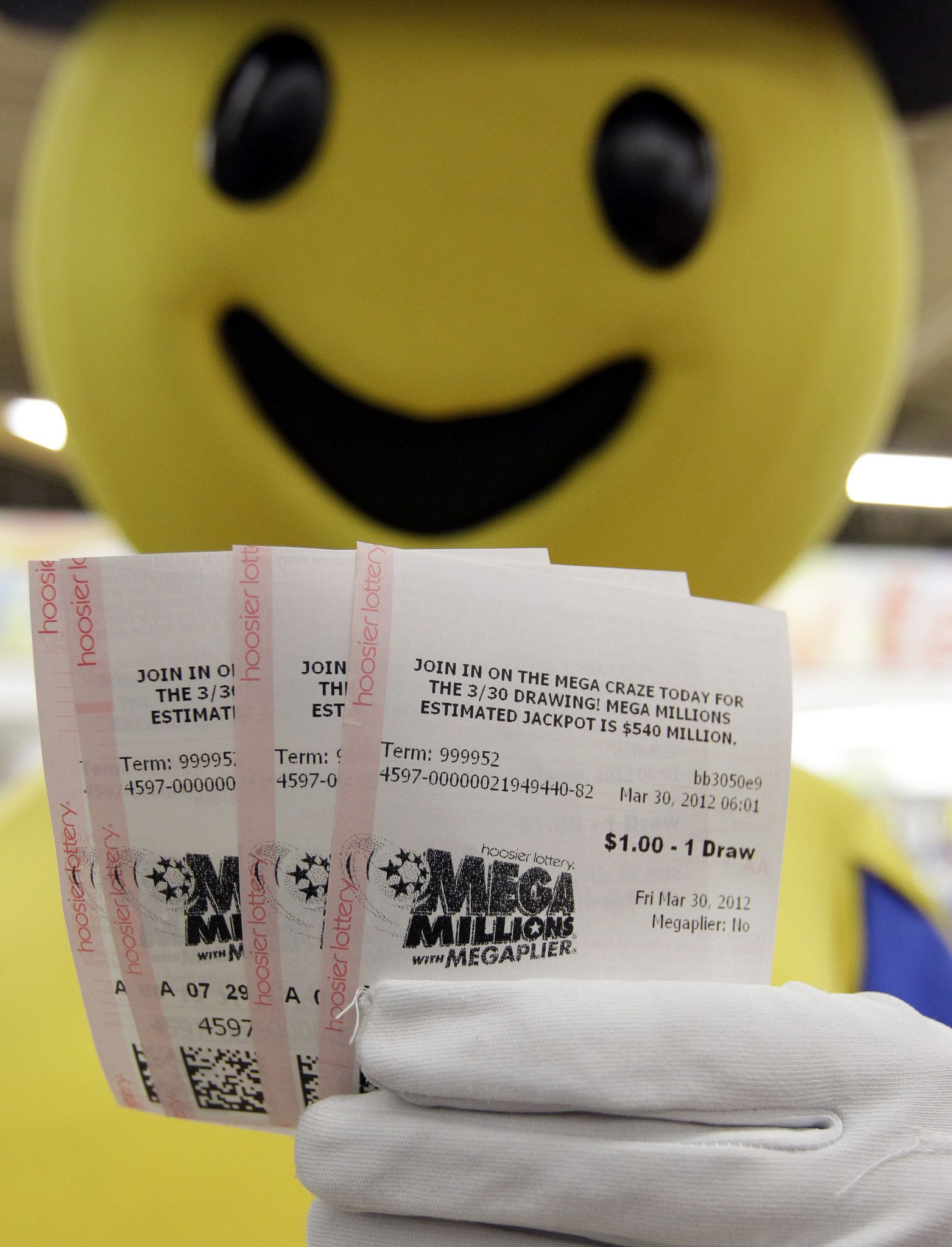 MegaMillions Jackpots Rolling Out .. Lottery winner