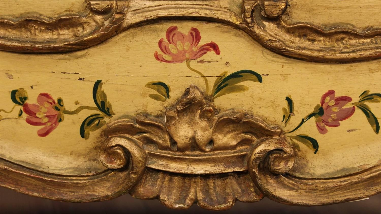 20th Century Lacquered and Gilded Commode 8