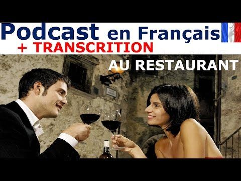 Au restaurant - French listening comprehension | French | Learn