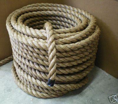 Free Shipping 1 X 100 Manila Rope Boat Docks Tree Farm Crafts Fitness Exercise Undulation Tytan Http Www Amazon Com Dp B00f0uhh Manila Rope Rope Decor Rope
