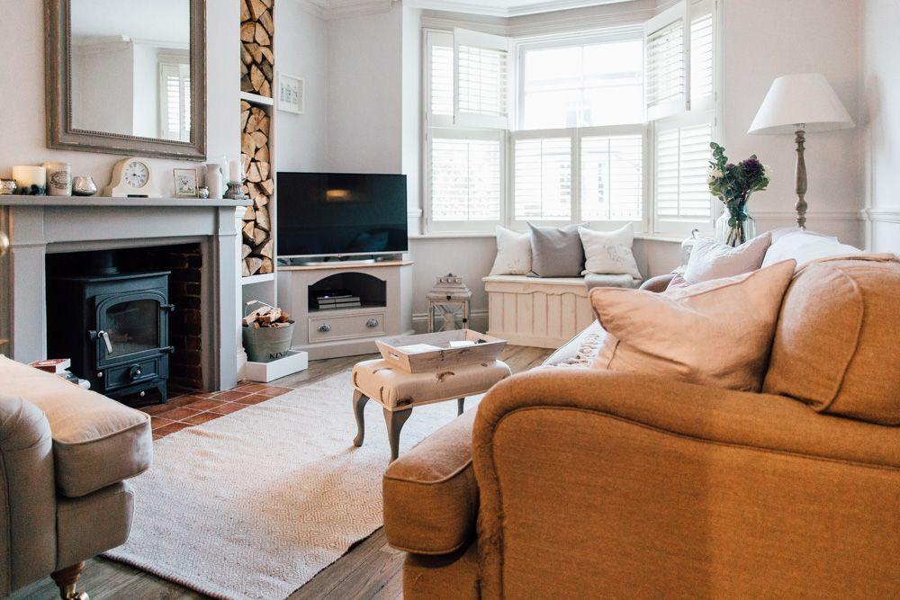 elle s modern country home now home living room room living rh pinterest com