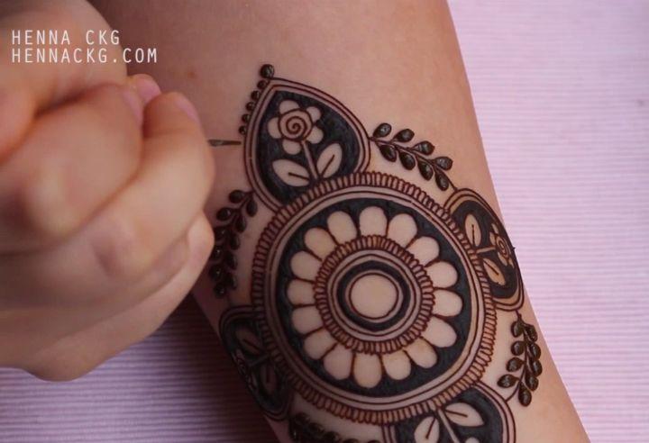 Henna Tattoo Montreal : Part henna nofilter natural mehndi hennamontreal art artist