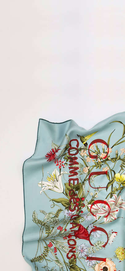 Brand of embroidery of towel of GUCCI luxury silk is