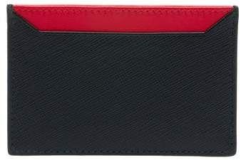 ae65c5d0e899 Prada Pradamalia Saffiano Leather Card Holder   Products   Card ...