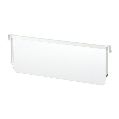 maximera s parateur pour tiroir haut blanc transparent 80. Black Bedroom Furniture Sets. Home Design Ideas