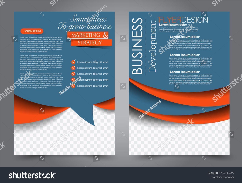 Business Flyer Vorlage Kostenlose Vektor 2