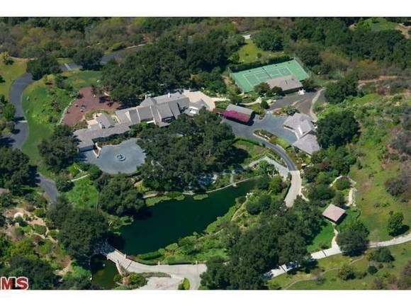 The Old Hart To Hart Estate For Sale In Brentwood Designed By Paul - Luxury-property-in-brentwood-park-beverly-hills
