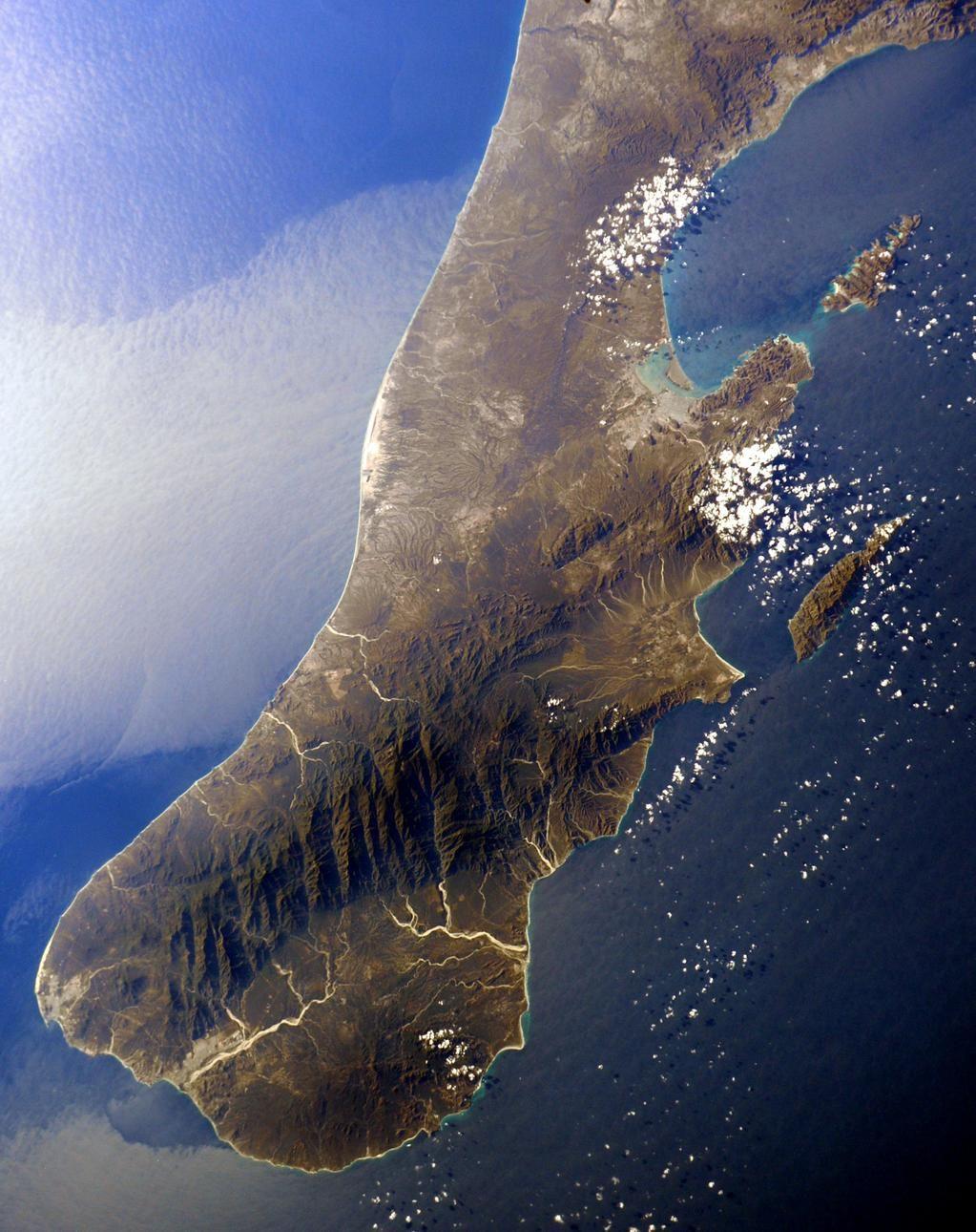 Sam Cristoforetti (@AstroSamantha) | Twitter | Baja california, Stazione  spaziale, Oceano