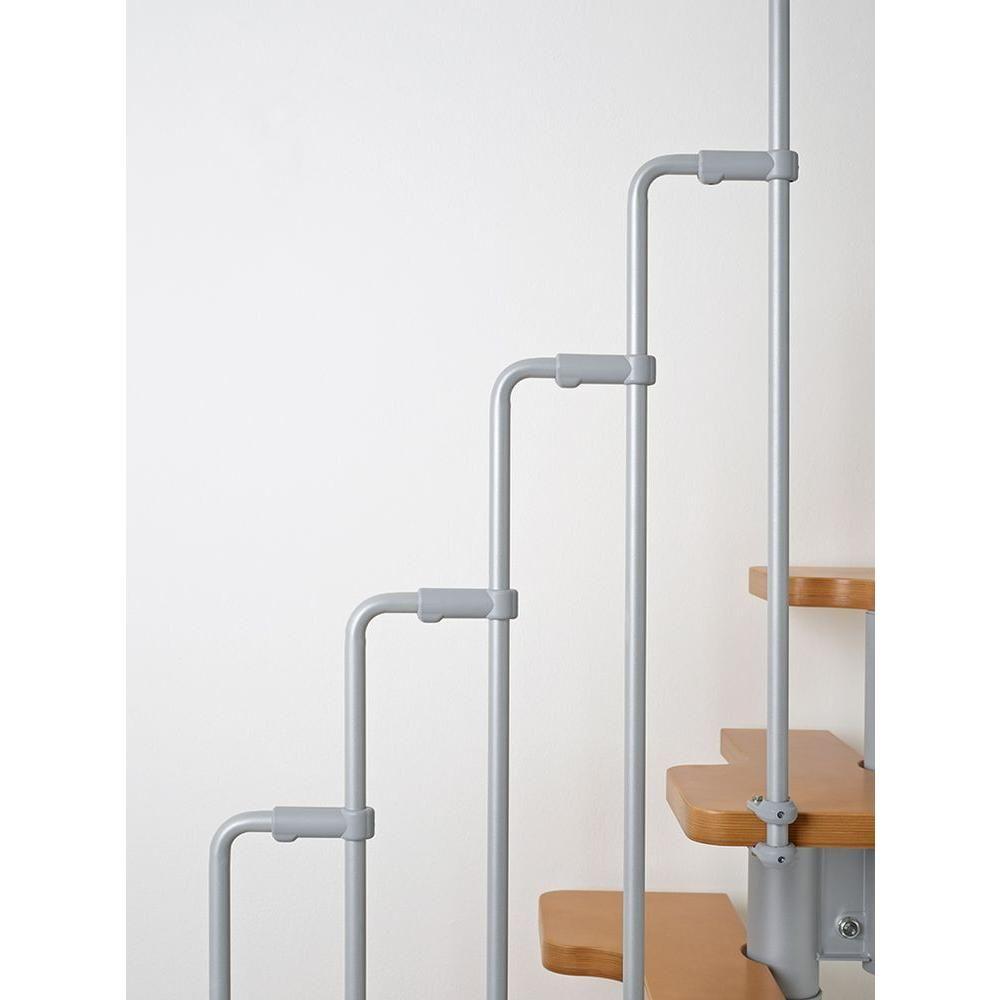 Best Arke Nice2 22 In Grey Modular Staircase Kit K50102 400 x 300
