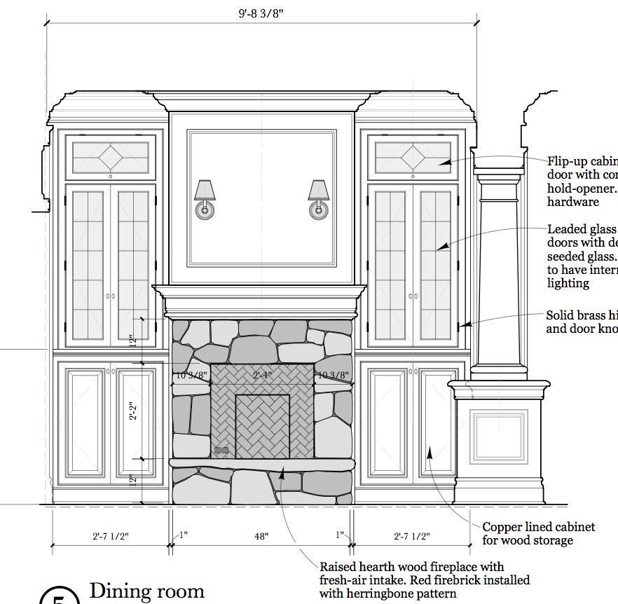 Kitchen Design Elevation: Interior Elevations And Millwork