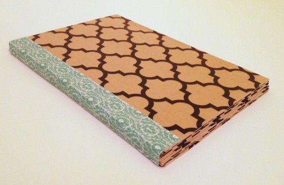 Recycled Cereal Box Mini Album Handmade Journals Album