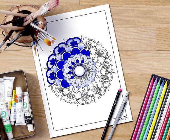 Coloring Pages For Adults That You Can Print : Mandala coloring pages for adults you can print these pages as