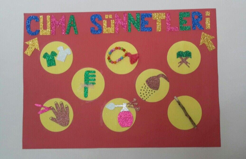 Okul Oncesi Etkinlik Cuma Sunnetleri Okul Oncesi Faaliyetler