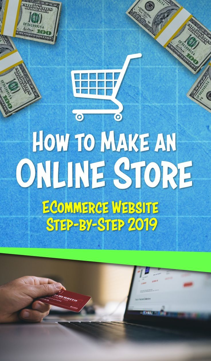 How to Make an Online Store Website Create