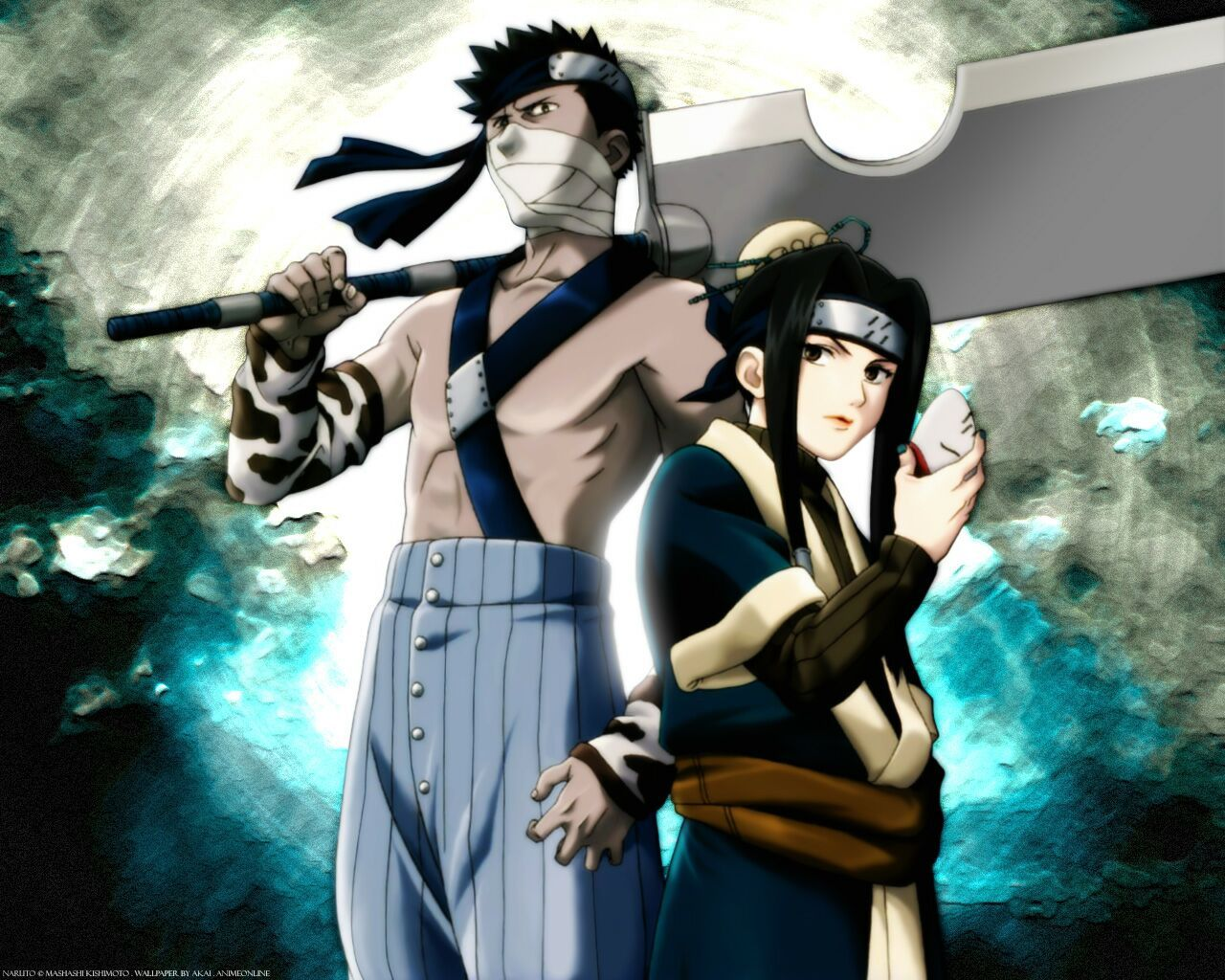 Zabuza And Haku Anime Naruto Naruto Wallpaper Naruto