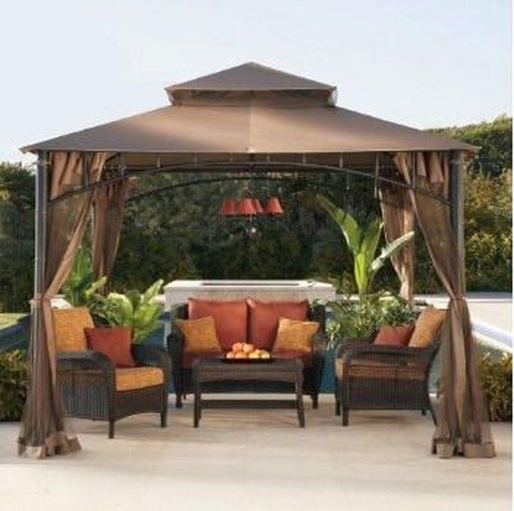 30 Cozy Diy Backyard Gazebo Design Decorating Ideas Gazebos Al Aire Libre Toldo Para Patios Patio Al Aire Libre