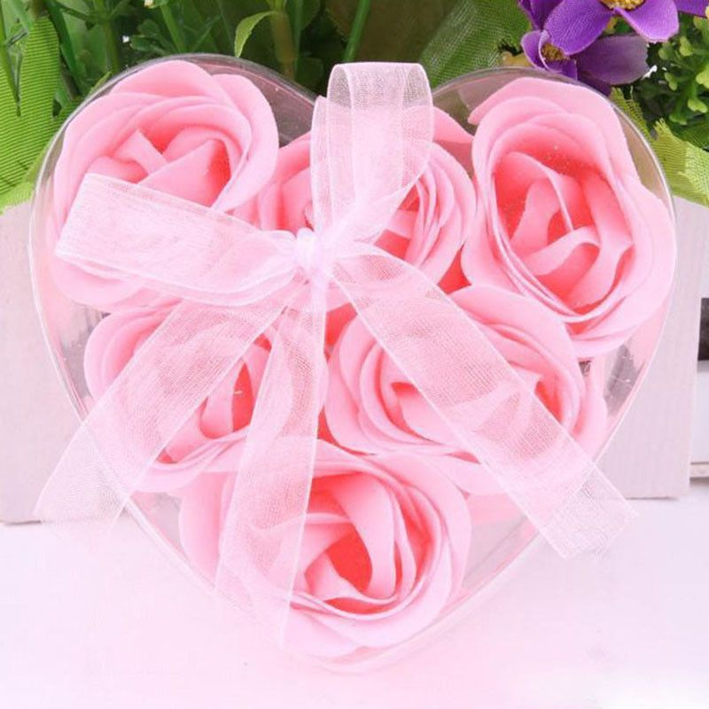 Honey Qiao 2016 High Quality Mix Colors Heart Shaped Rose Soap ...