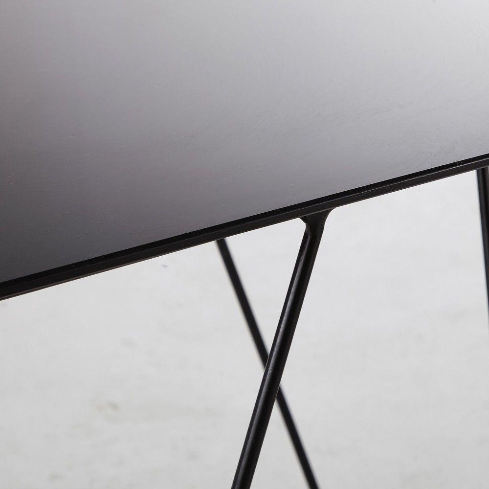 Beistellmöbel Tisch, Glas und Haus