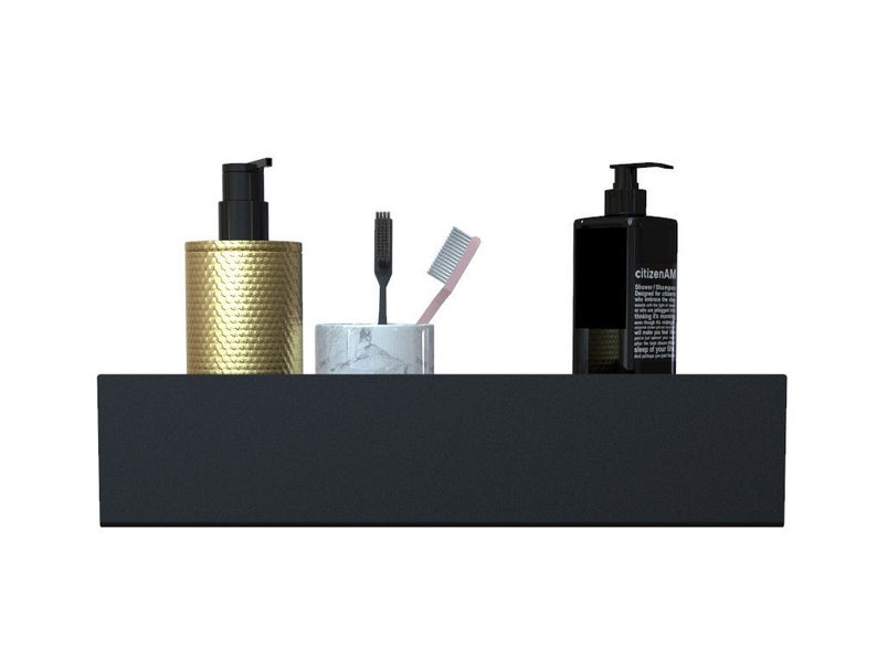 Black Docia Shower Shelf Etsy In 2020 Shower Shelves Shower Shelves