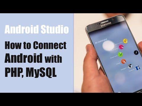 Android php/mysql tutorialspoint.