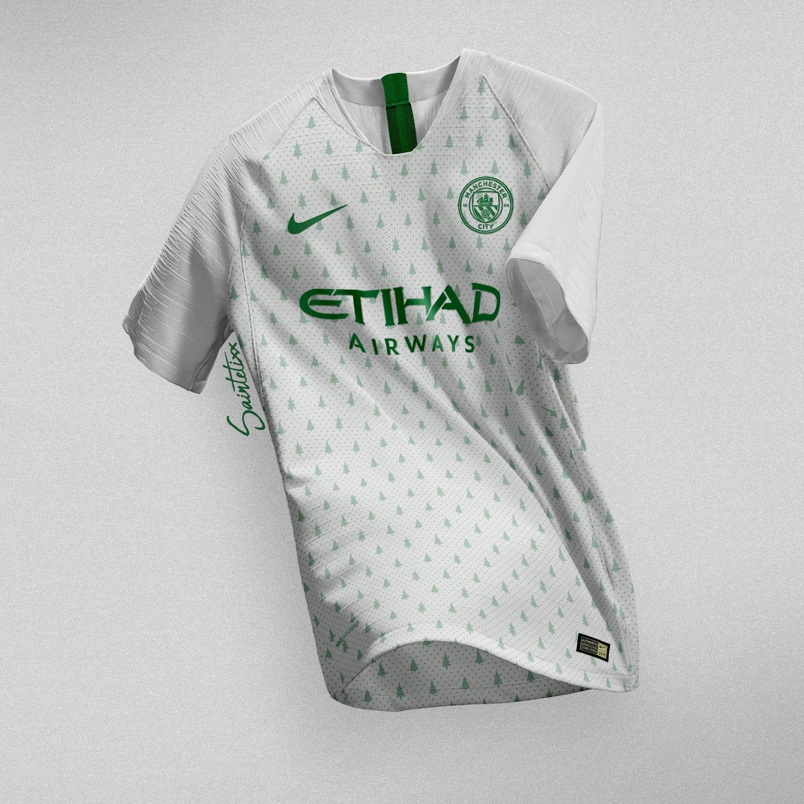 e1bc73a9025 Stunning Barcelona, Inter, Manchester City & PSG 2018 Christmas Concept Kits  By Saintetixx - Footy Headlines